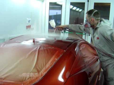 Andy's Crash Repairs Spray Painting Booth 03