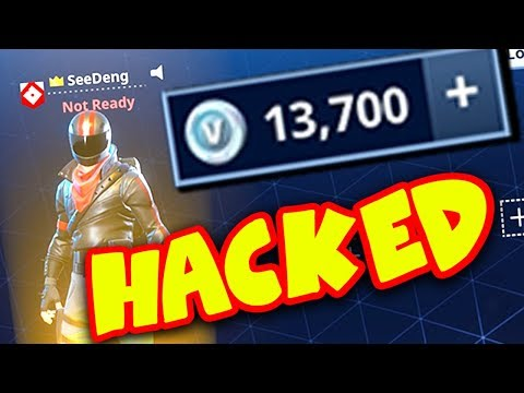 HACKING MY FRIENDS FORTNITE ACCOUNT *BUYING V-BUCKS*