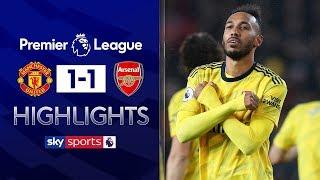 VAR hands Arsenal draw at Man Utd!   Manchester United 1-1 Arsenal   Premier League Highlights