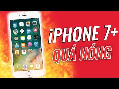 """""""Nổi Điên"""" vì iPhone 7Plus quá nóng ? Cách khắc phục hiệu quả"""