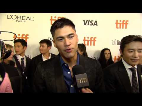 "The Magnificent Seven: Martin Sensmeier ""Red Harvest"" TIFF Movie Premiere Interview"