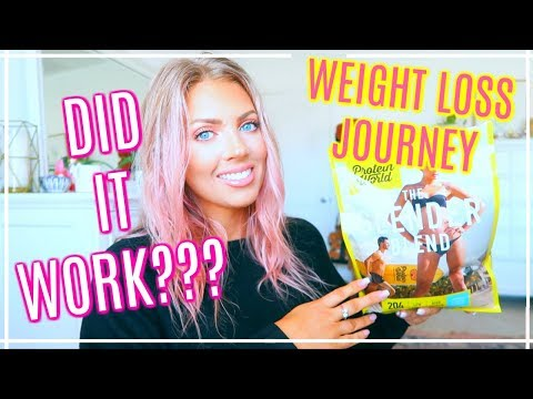 My 4-Week WEIGHT LOSS Journey With Protein World | BEFORE & AFTER PICTURES