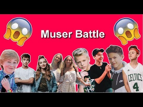 The Best Musical.ly Compilation l The muser battle
