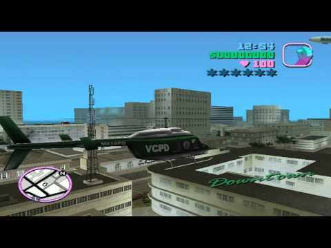 GTA Vice City - Hướng dẫn lái máy bay