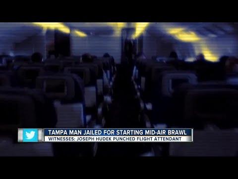 Tampa man assaults flight attendant on Delta flight