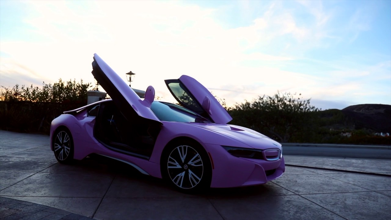 Bmw I8 Pink Very Very Very Beautiful Youtube