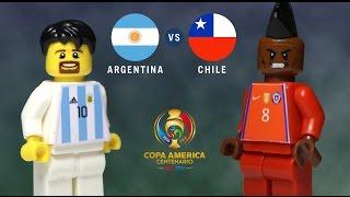 LEGO Copa América Final 2016 ARGENTINA - CHILE