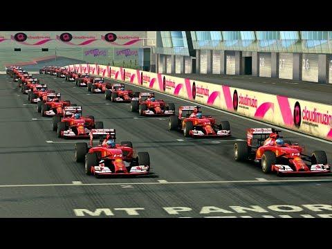 Real Racing 3 F1 Ferrari F14 T Cup Mount Panorama