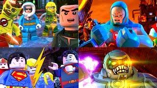 LEGO DC Super-Villains All Cut-Scenes HERO ENDING