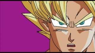 goku enojado con toei animation