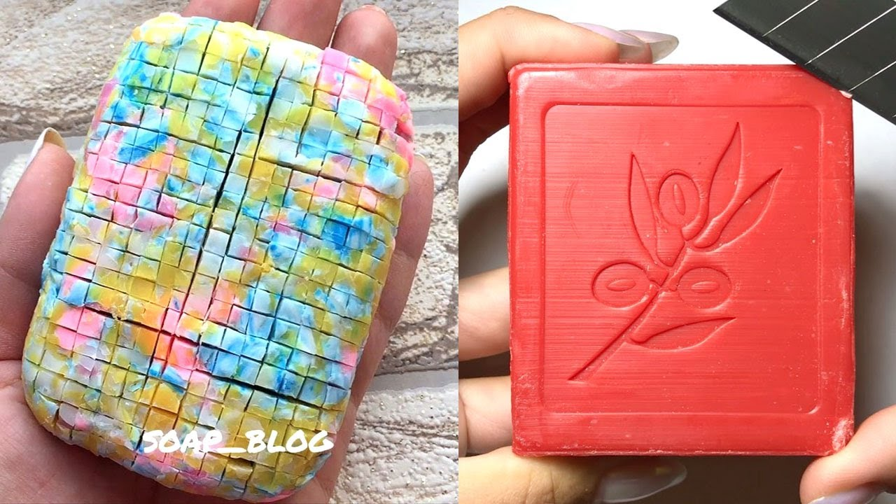Soap Carving ASMR ! Relaxing Sounds ! Satisfying ASMR Video | P214