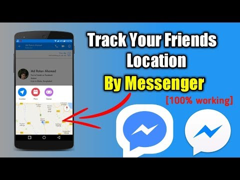 How To Track Your Friends Location By Messenger | Messenger Secret Tips & Tricks
