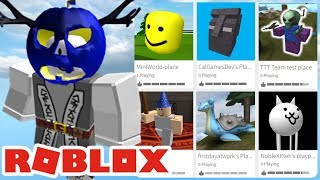 Jouer à WEIRD Roblox Games Made By ADMINS!