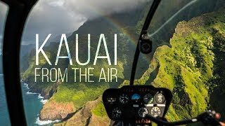 Kauai from the air - Hawaii helicopter tour 2019