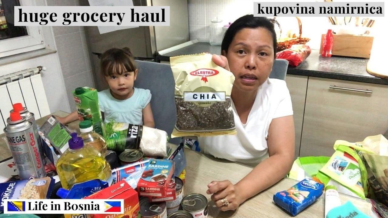 GROCERY HAUL 2ND TIME FOR THE MONTH OF JUNE | KUPOVINA NAMIRNICA | KUPOVINA HRANA