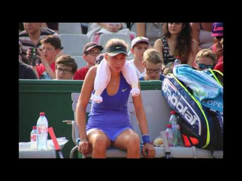 Amanda Anisimova  - good fight in the heat