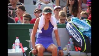 Amanda Anisimova  - good fight in the heat