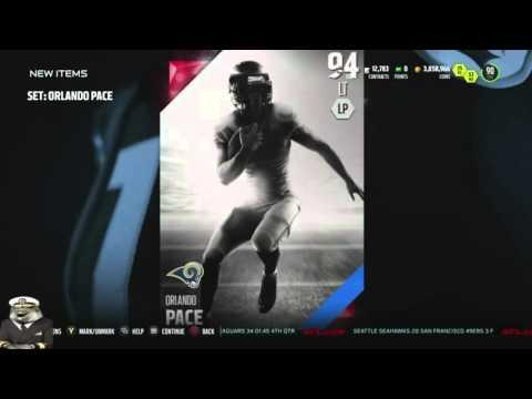 Madden 16 Ultimate Team :: We Snagged 94 Legend Orlando Pace! ::-XBOX ONE Madden 16 Ultimate Team