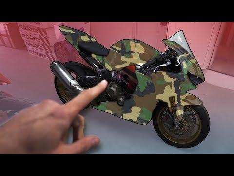 Ich Hole Mein Rennmotorrad! BikePorn
