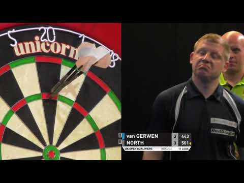 van Gerwen vs North. Uk Open Qualifier.