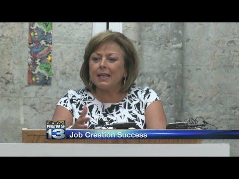 New Mexico governor announces increase in job creation