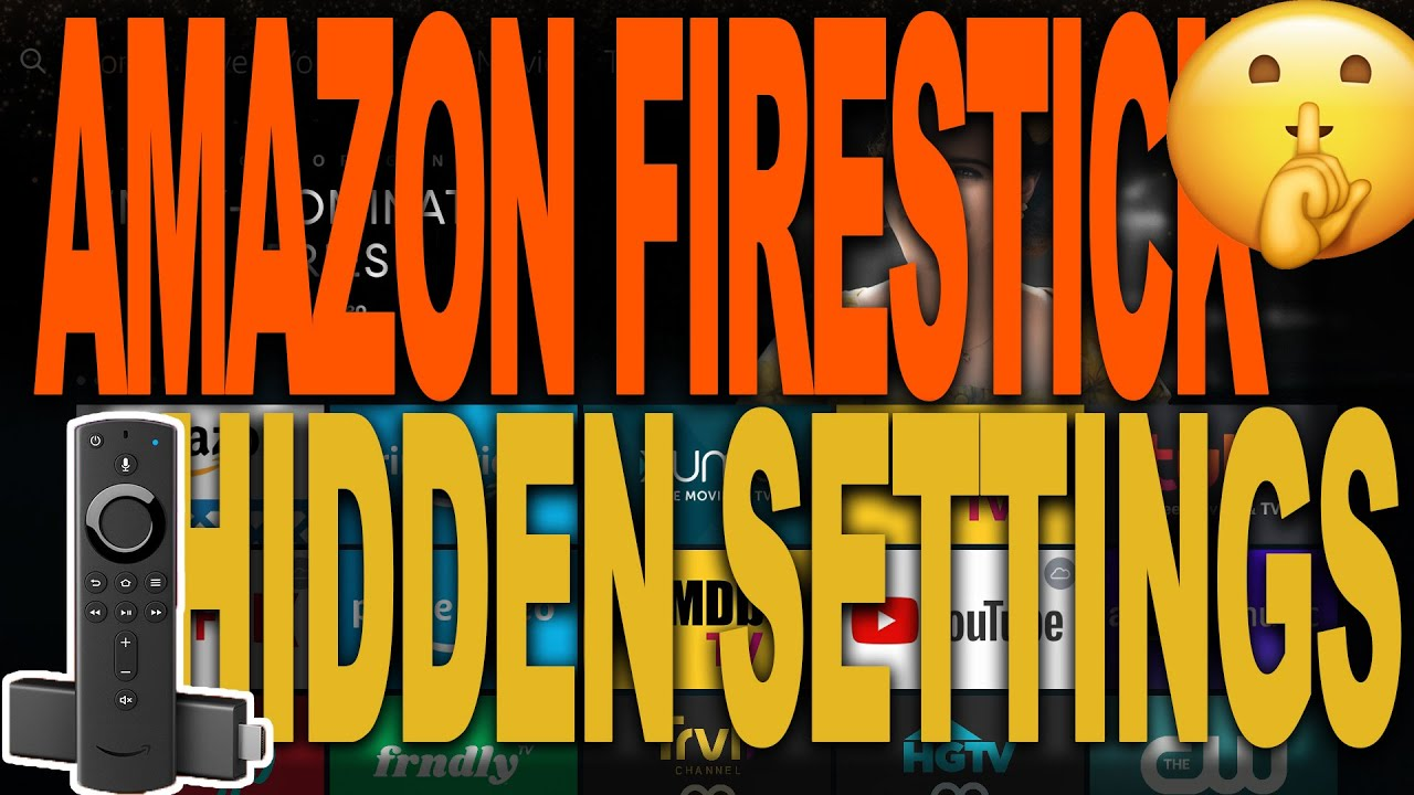 Download AMAZON FIRESTICK HIDDEN SETTINGS YOU NEED TO KNOW ABOUT   AMAZON FIRE TV
