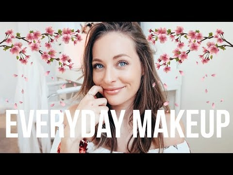My Everyday Makeup (simple & natural) | SPRING