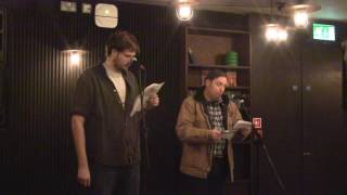 North x North West Poetry Tour : Liverpool - Andrew Taylor and Dave Spittle