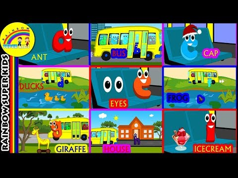 Nursery Rhymes - A to Z Phonic Sounds for Kindergarten