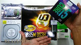 intel Core i5 9400 GIGABYTE B365M DS3H DDR4 2666Mhz WD M.2 Green SSD Office PC Build 2019