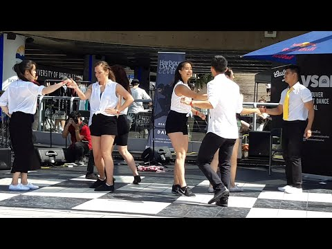 HUSTLE Dance - Extremely Popular Nightclub Dance, A Funky Kind of Salsa or Swing Dance