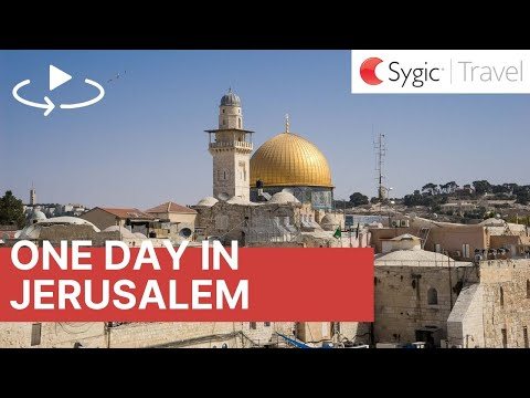 One day in Jerusalem: 360° Virtual Tour with Voice Over