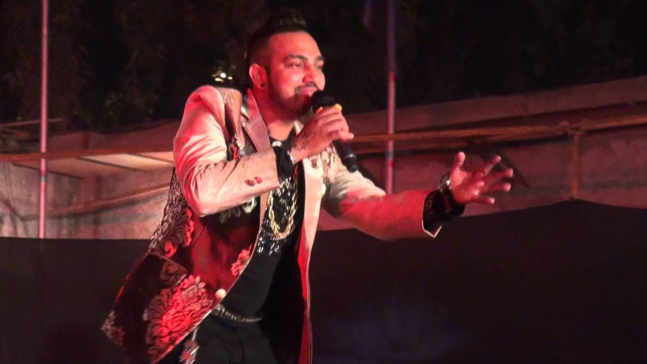 M Star Feat Vikka Singhlive Performancefilmcity Noida Marwah