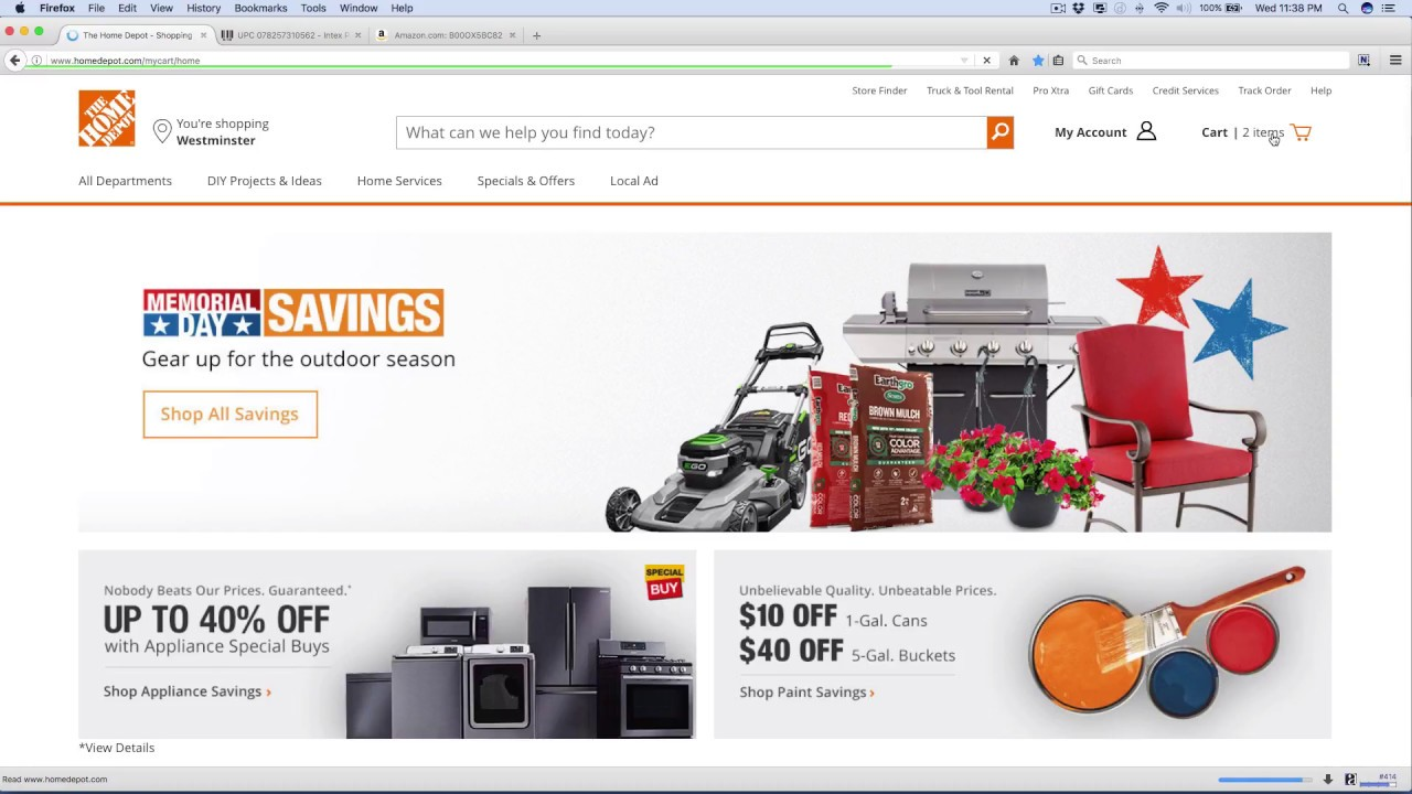 How I Process My Home Depot Orders (May 2017) - YouTube