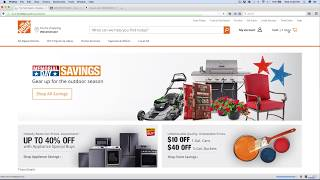 How I Process My Home Depot Orders (May 2017)