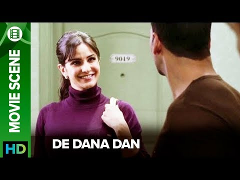 Katrina Kaif runs from home to marry Akshay Kumar | De Dana Dan | Movie Scene