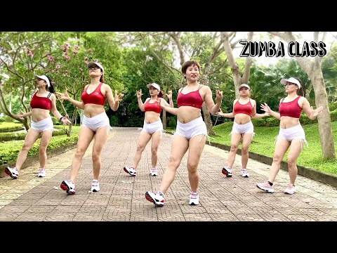 37 Mins Aerobic Workout Reduction Of Belly Fat Quickly l Zumba Class