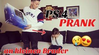 PS4 PRANK an KLEINEN BRUDER 😍🔥*POSITIV PRANK*