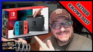 I WAS WRONG ABOUT THE SWITCH!! | Father Knows Best | Dad