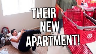 HIS NEW APARTMENT!! Home Decor Shopping at Target!