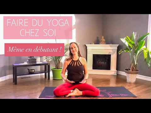 comment faire du yoga la maison m me en tant d butant 2 365 youtube. Black Bedroom Furniture Sets. Home Design Ideas