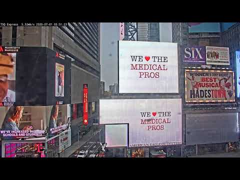 Times Square: Express View Live