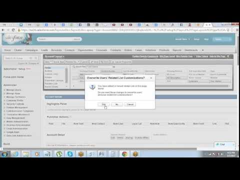 Customization of User Interface in Salesforce | Page Layouts
