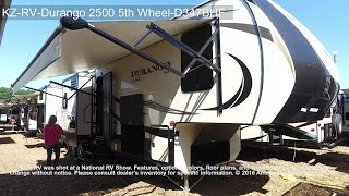 KZ-RV-Durango 2500 5th Wheel-D347BHF