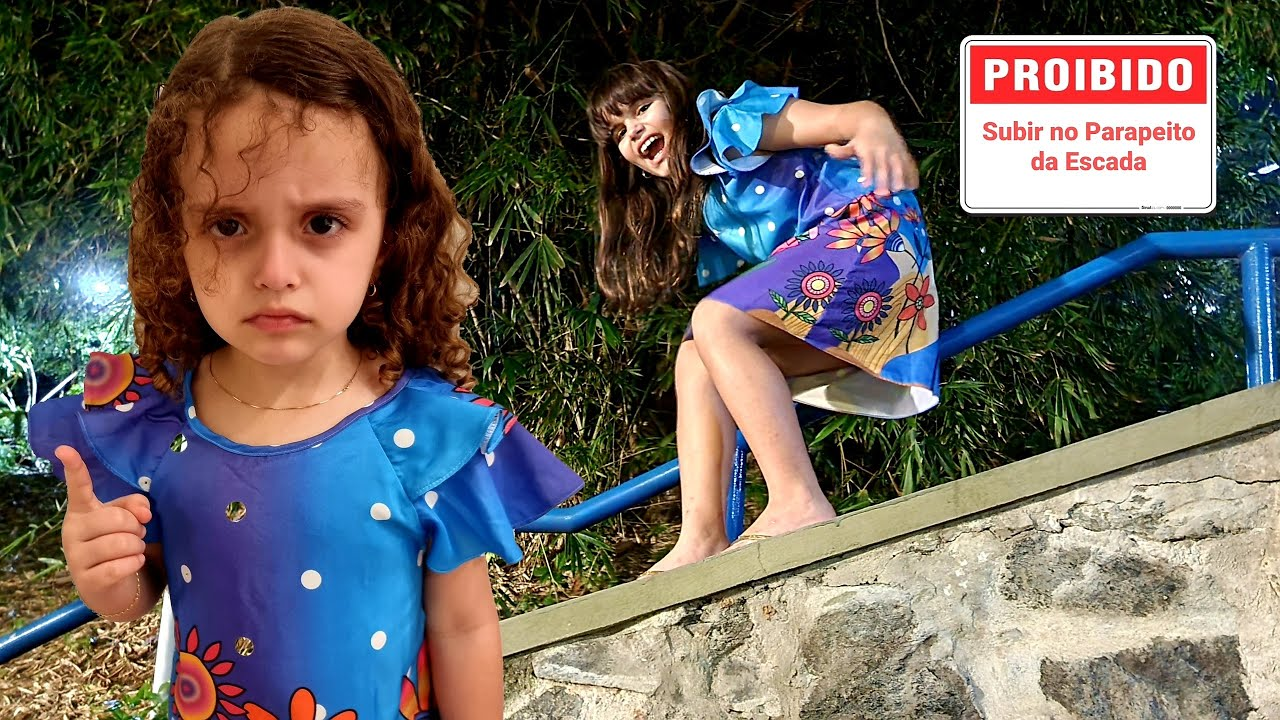REGRAS DE CONDUTA PARA CRIANÇAS NA RUA 10 - Learn Rules of Conduct for Children