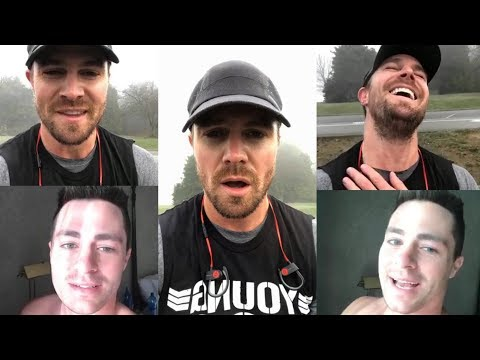 Stephen Amell & Colton Haynes | Instagram Live Stream | 9 December 2017