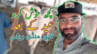 KUCH HOOSH KERO BHAIYO - Lahore Cow Mandi After Bakra Eid 2020 - Bakra Mandi Pakistan