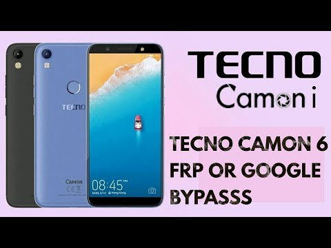 HOW TO BYPASS/REMOVE FRP ON TECNO CA6 (CAMON 6)-NO PC - YouTube