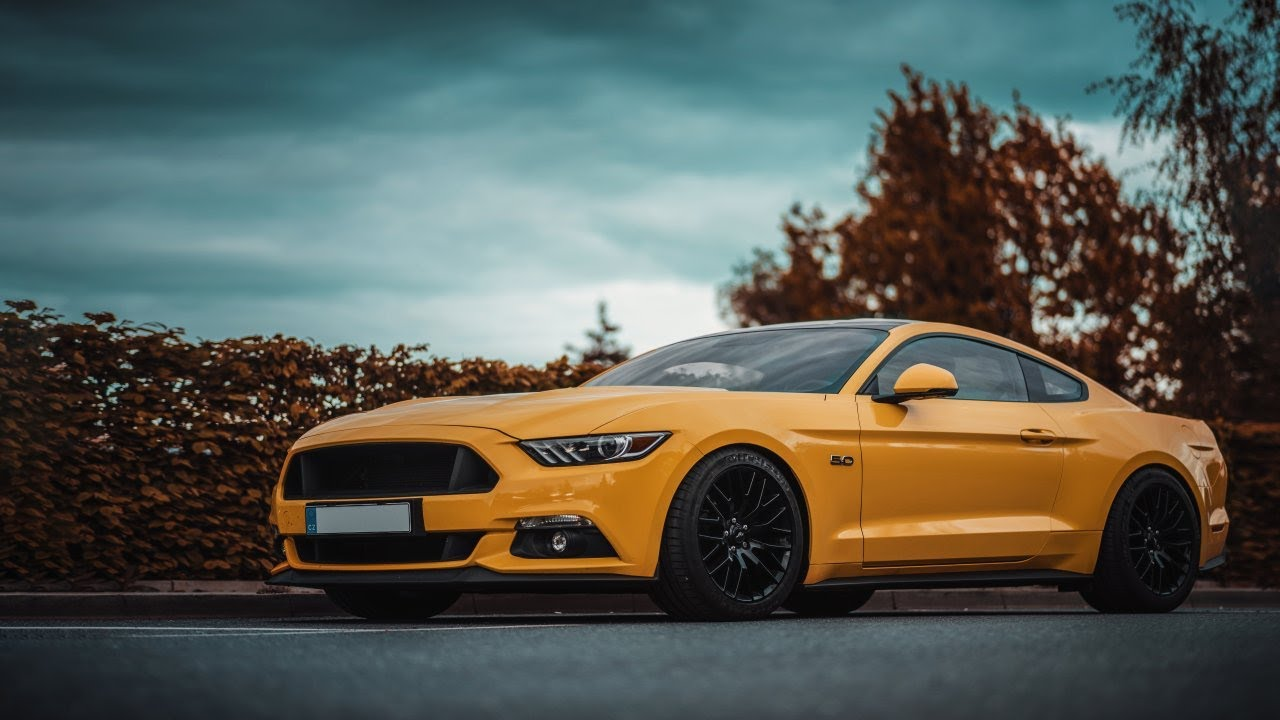 Měníme vzhled Mustanga!