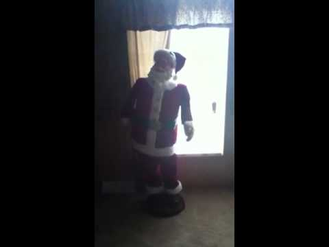 5ft dancing Santa